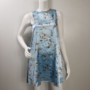 UO Kimchi Blue Floral Sleeveless Dress Sz S 2245